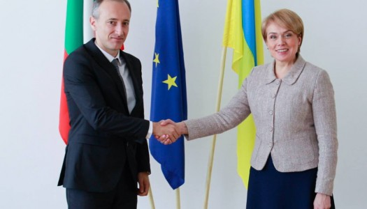 "Ministers of education and science of Ukraine and Bulgaria Lilia Hrynevych and Krasimir Valchev discussed the implementation of Article 7 of the Law of Ukraine ""On Education."""