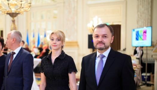 Надзвичайний та Повноважний Посол Республіки Молдова в Україні Руслан Болбочан провів дипломатичний прийом на  честь 27-ї річниці Незалежності Республіки.